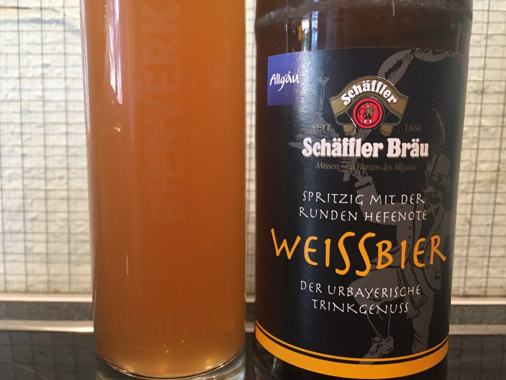 Schäffler Bräu Weissbier aus dem Allgäu