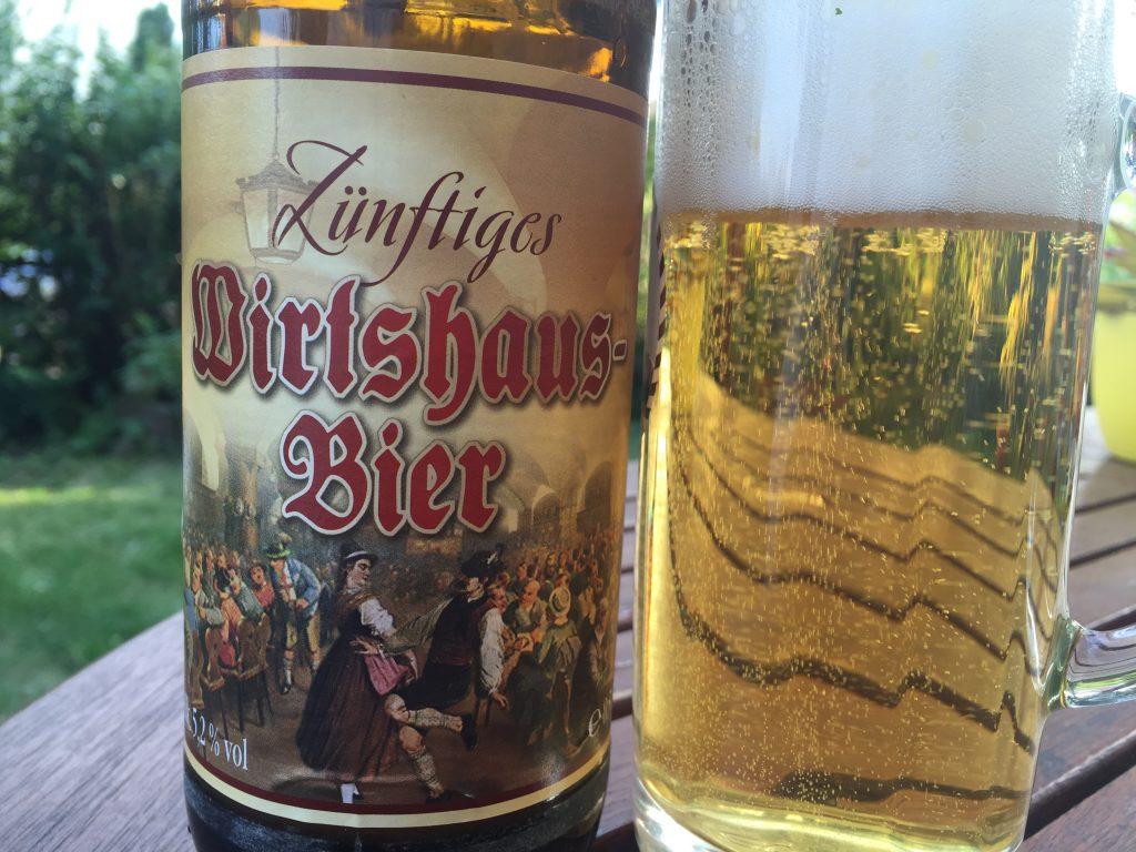 Zünftiges Wirtshaus-Bier von Hösl
