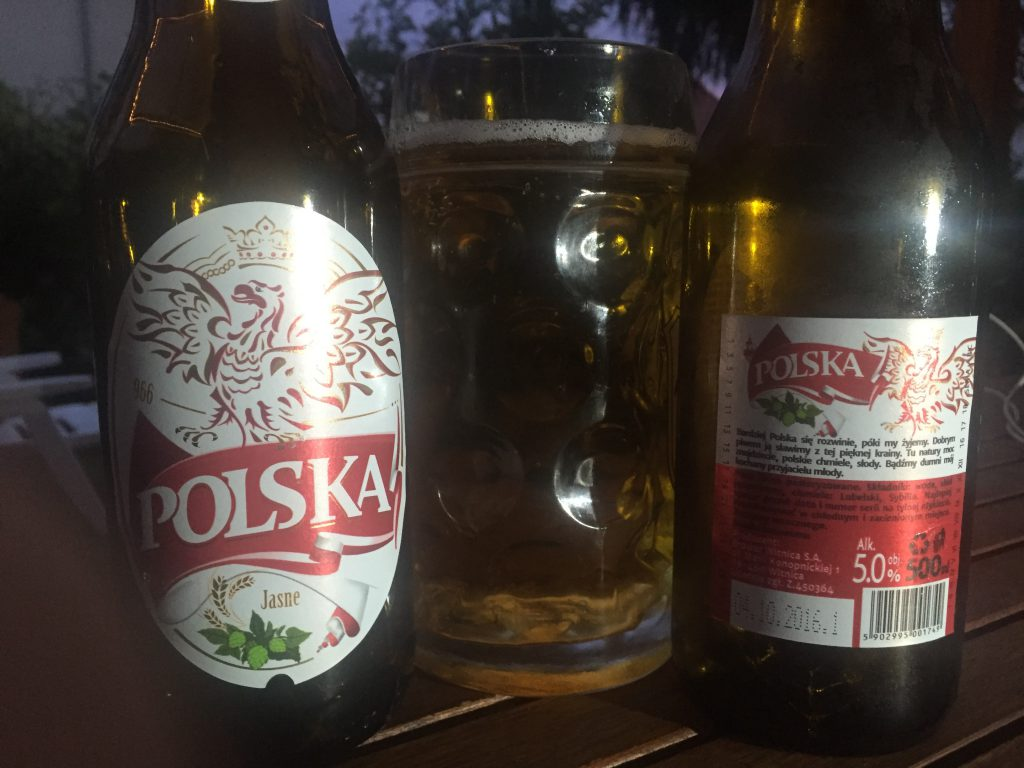 """Polska"" Bier aus Polen"