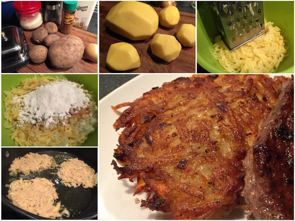 Kartoffelpuffer wie von Oma
