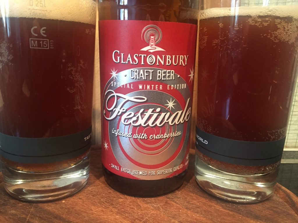 Glastonbury Festivale Craft Beer Special Winter Edition