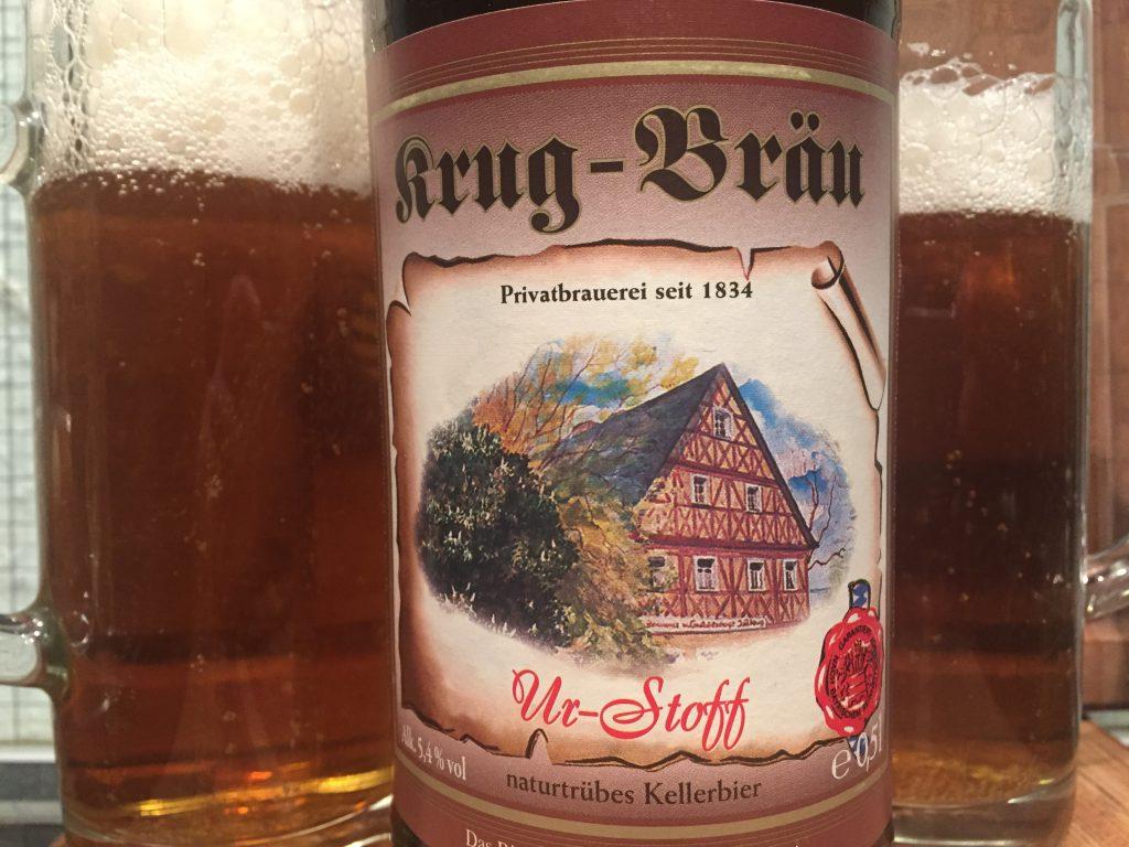 Krug Bräu Ur-Stoff naturtrübes Kellerbier