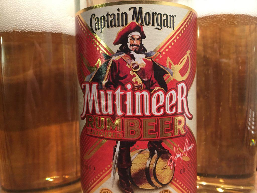 Captain Morgen Multineer Rum flovoured Beer