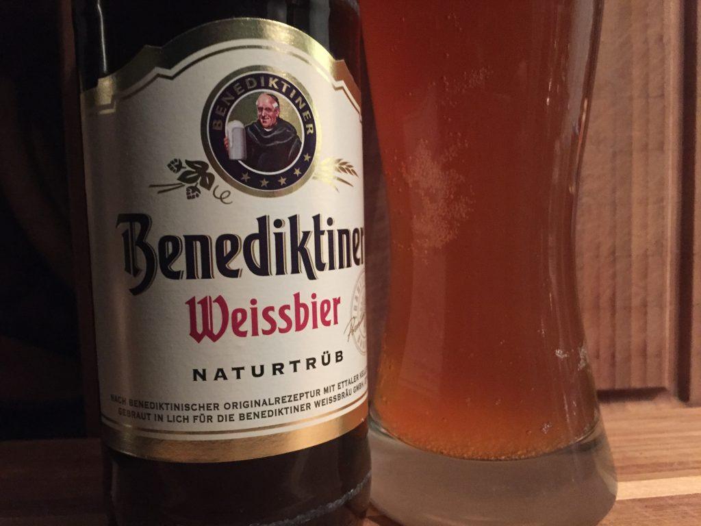 Benediktiner Weissbier naturtrüb