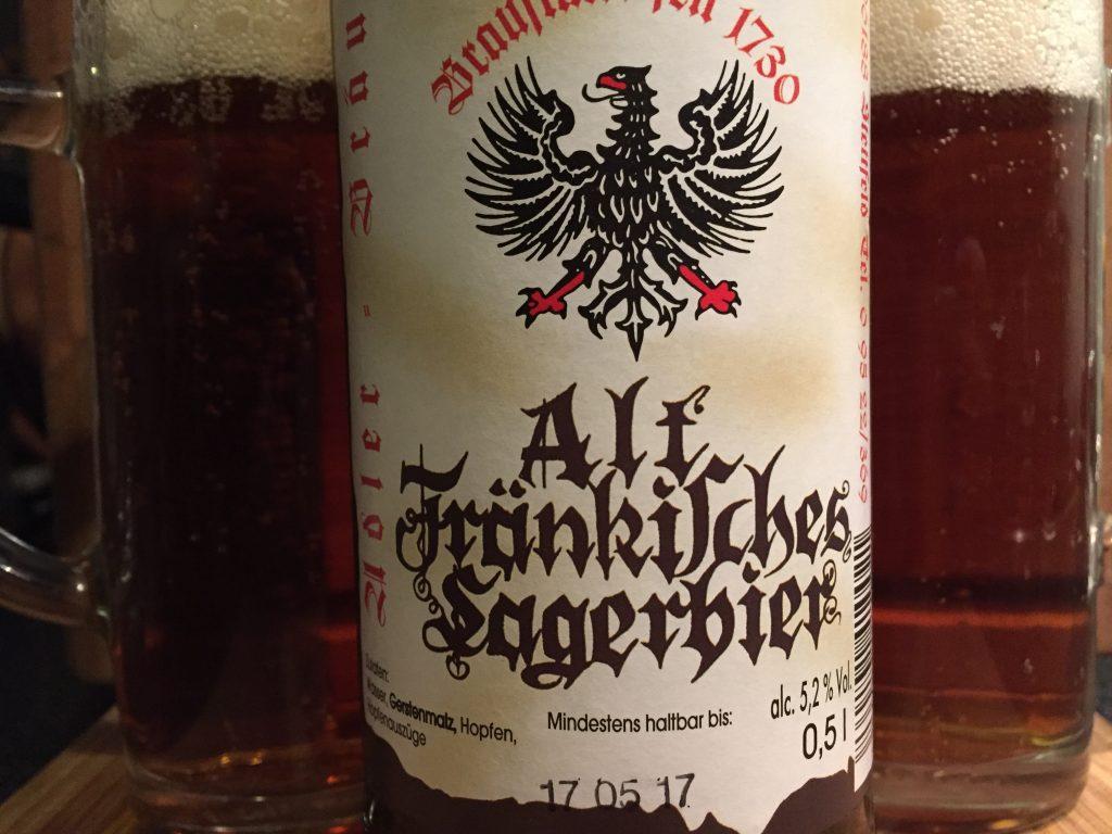 Adler Bräu Alt Fränkisches Lagerbier