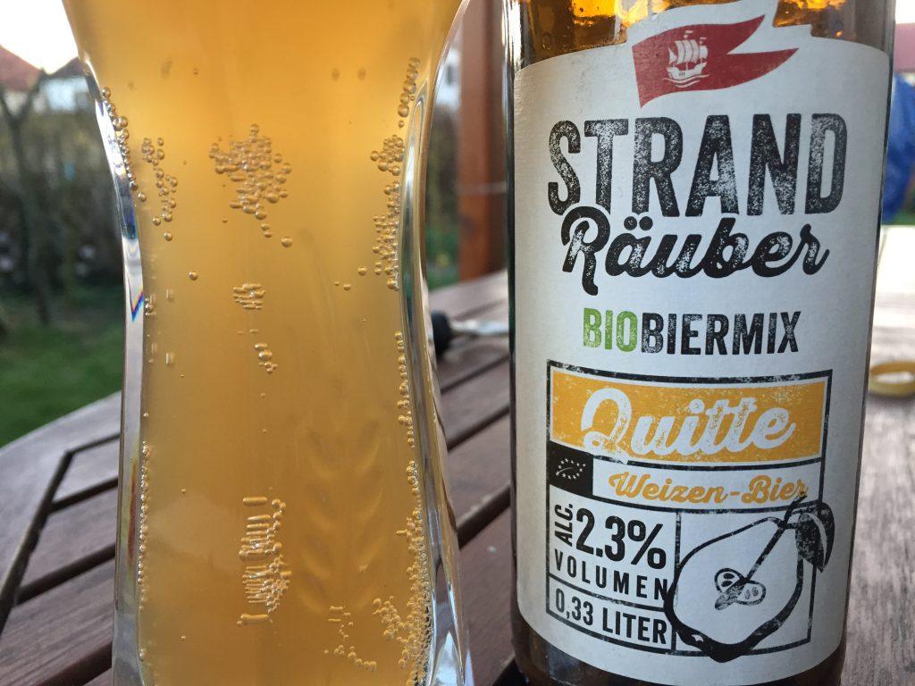 Störtebeker Quitte Weizen Bier