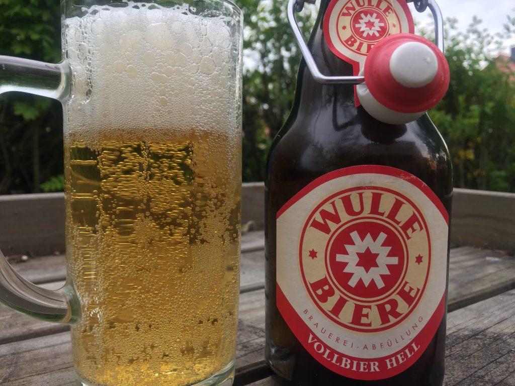 Wulle Bier Vollbier Hell
