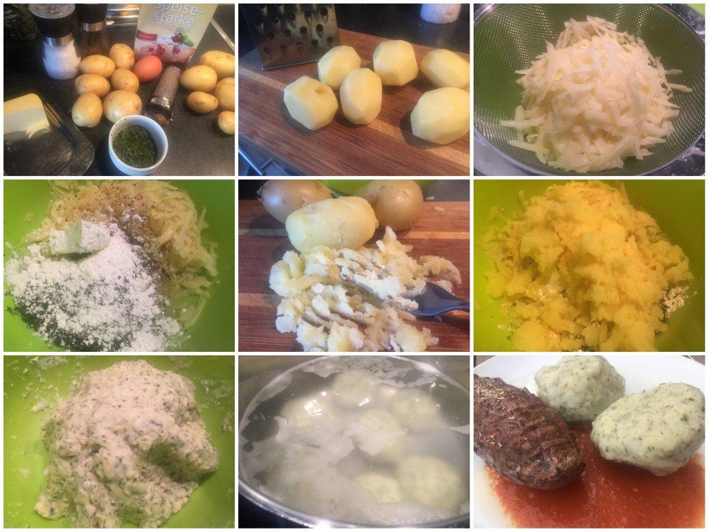 Kartoffelknödel bayrischer Art