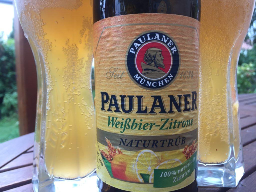 Paulaner Weißbier-Zitrone