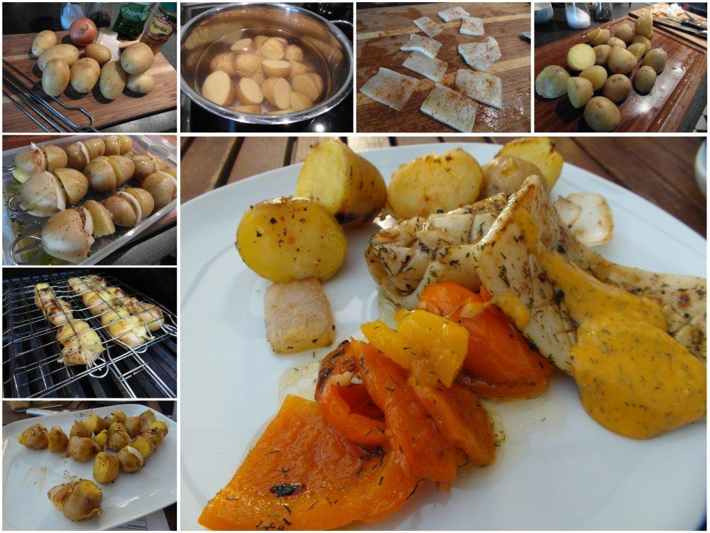 Armenische Grillkartoffelspieße