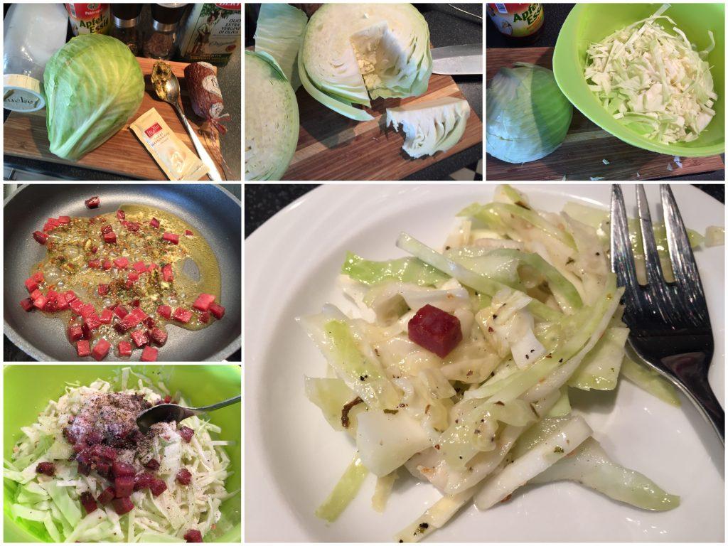 Weißkohlsalat zum Grillabend