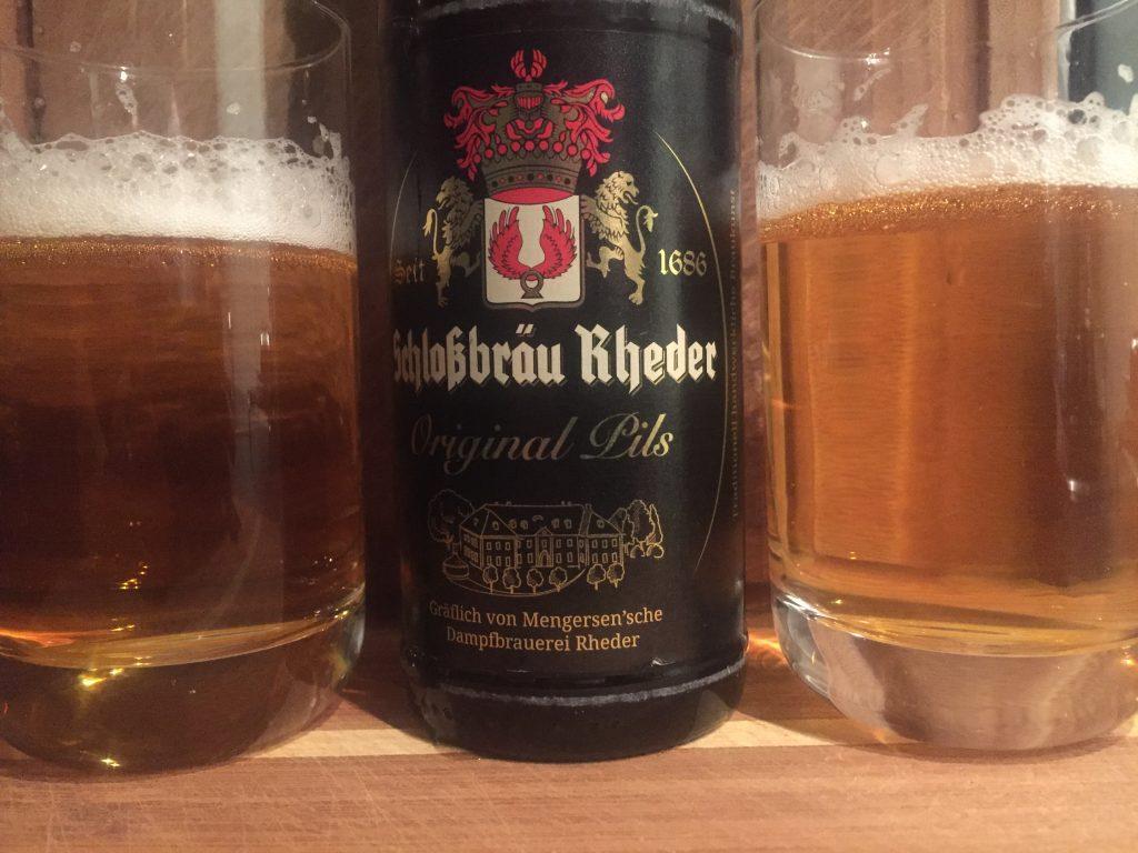 Schloßbräu Rheder Original Pils