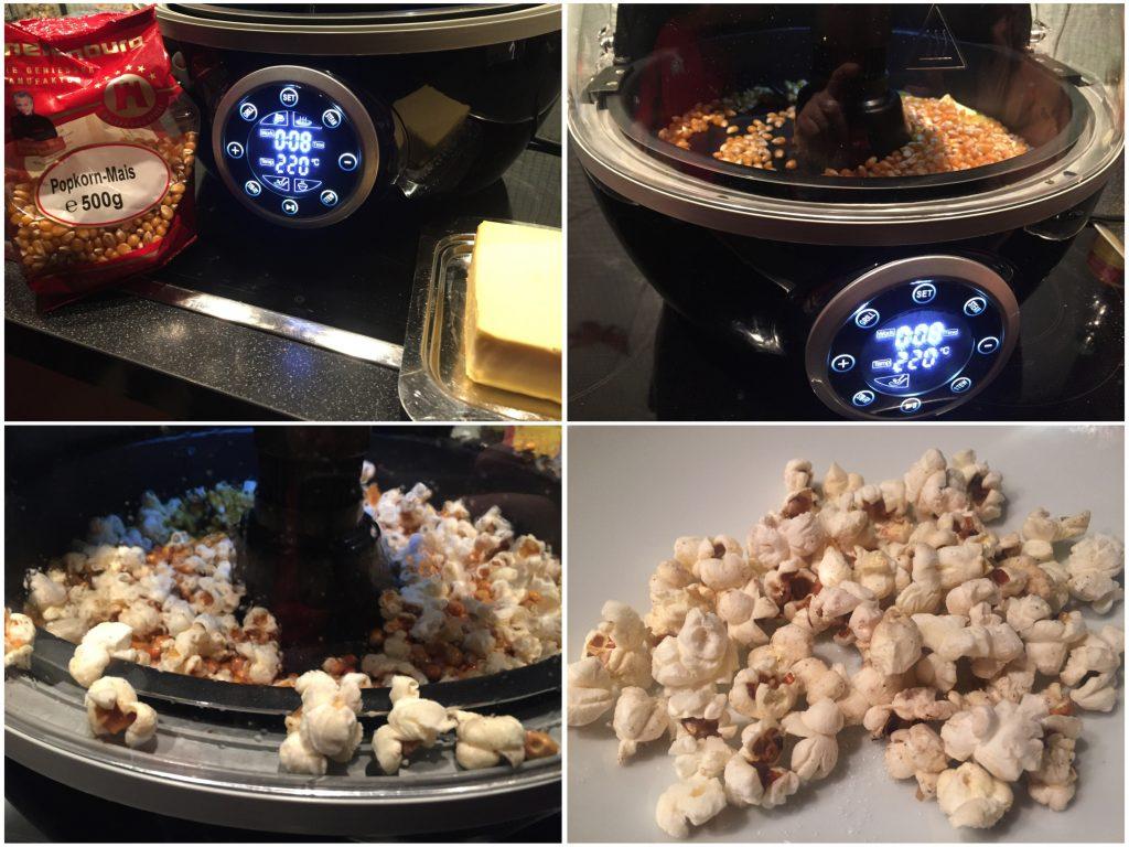 Popcorn aus der Heißluftfritteuse