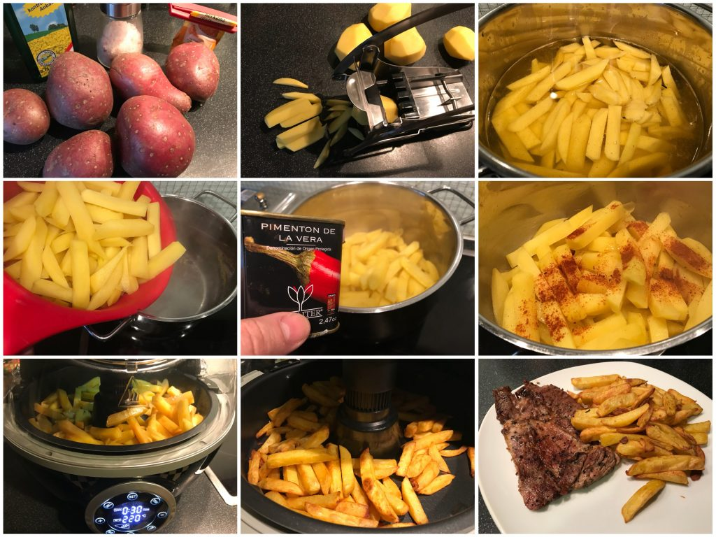 Selbstgemachte Pommes 2.0
