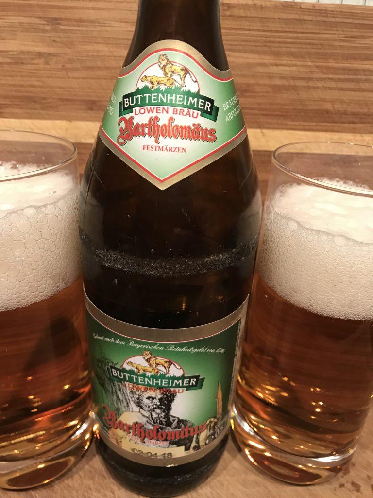 Buttenheimer Löwen Bräu Bartholomäus Festmärzen