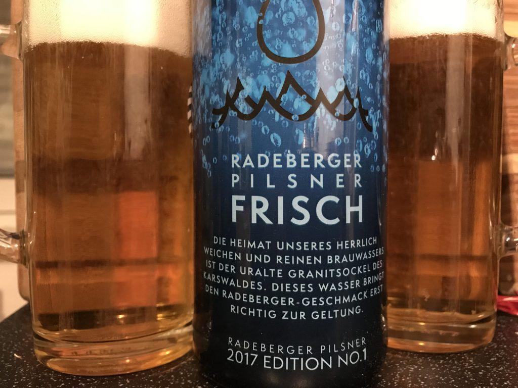 Radeberger Pilsner Frisch 2017 Edition