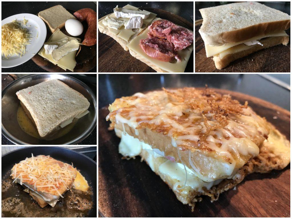 Käsesandwich mal anders