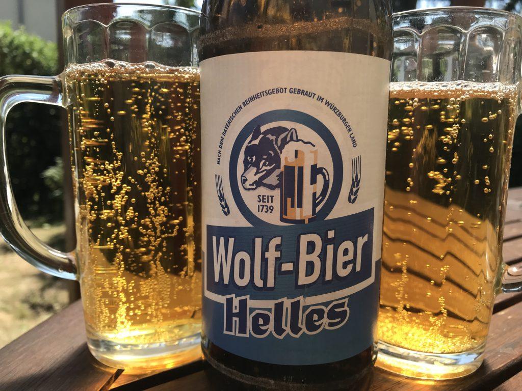 Wolf-Bier Helles