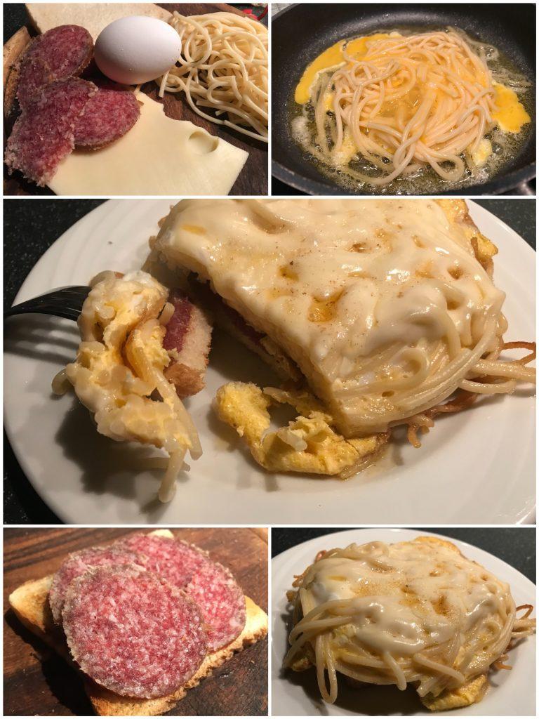 Spagetti-Toast