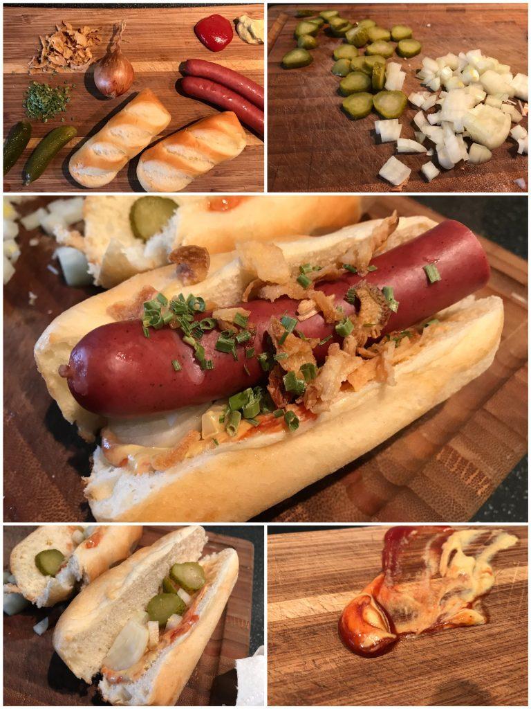 Minihot Dogs zum Frühstück