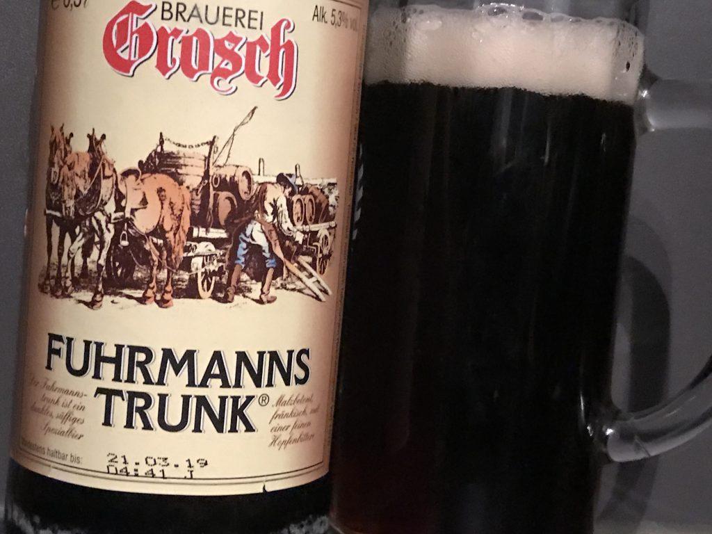 Brauerei Grosch Fuhrmanns Trunk