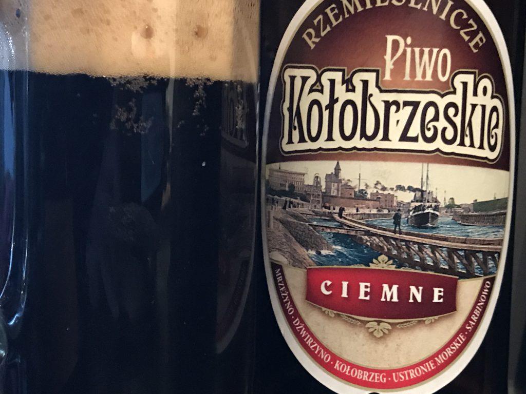 Piwo Kolobrzeskie Ciemne