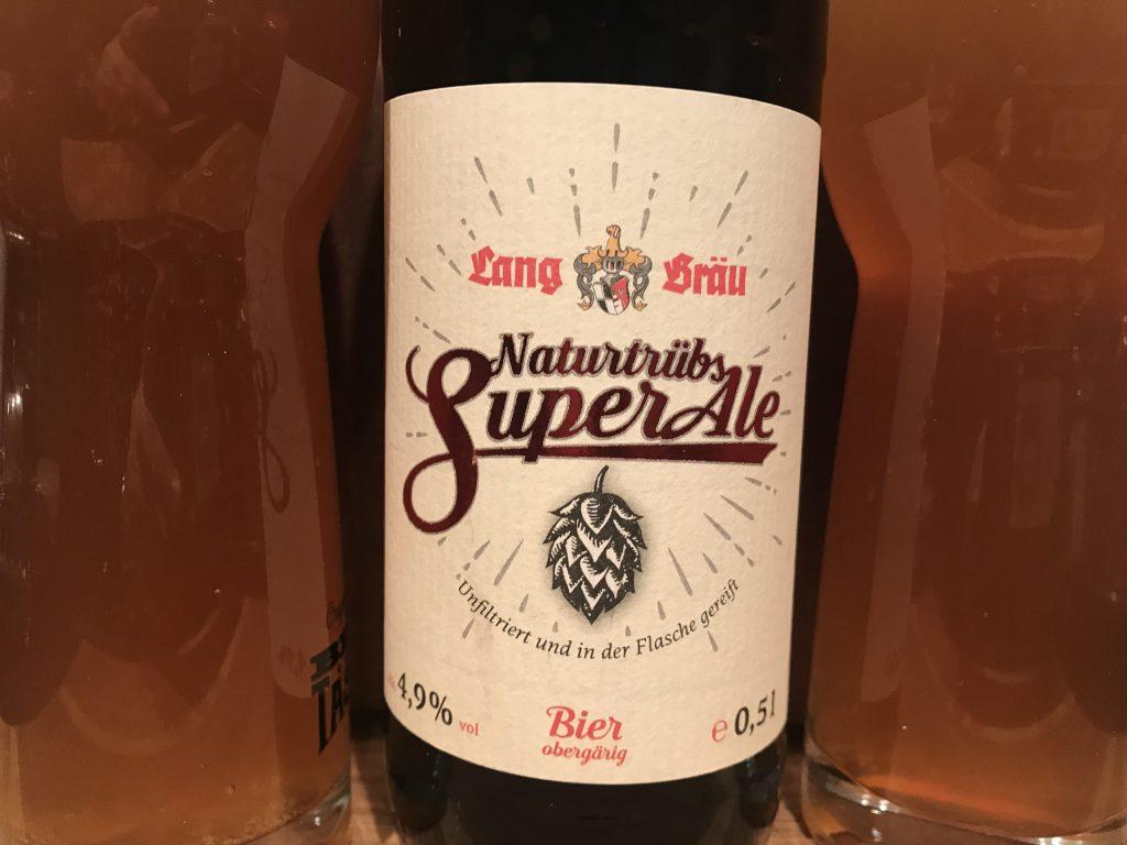 Lang Bräu Naturtrübes Super Ale