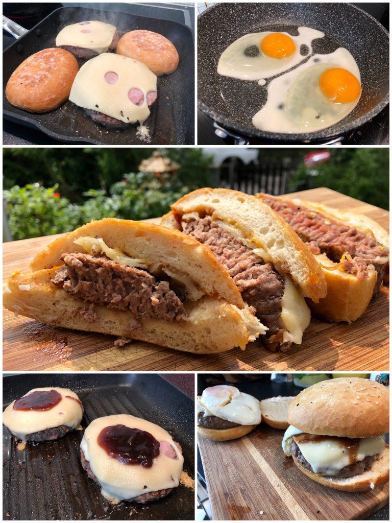 Gestreifter Fladenbrotburger