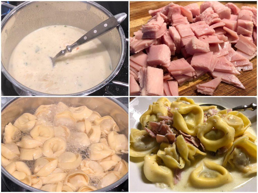 10-Minuten-Tortellini mit Käsesoße