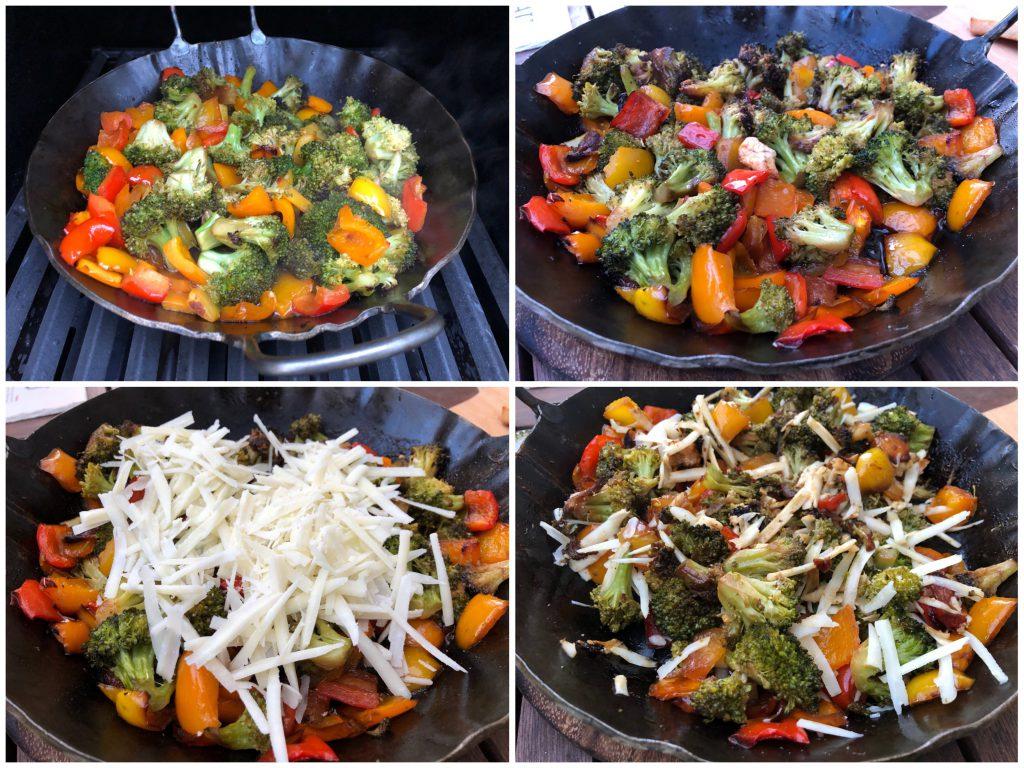 Gemüsepfanne vom Grill