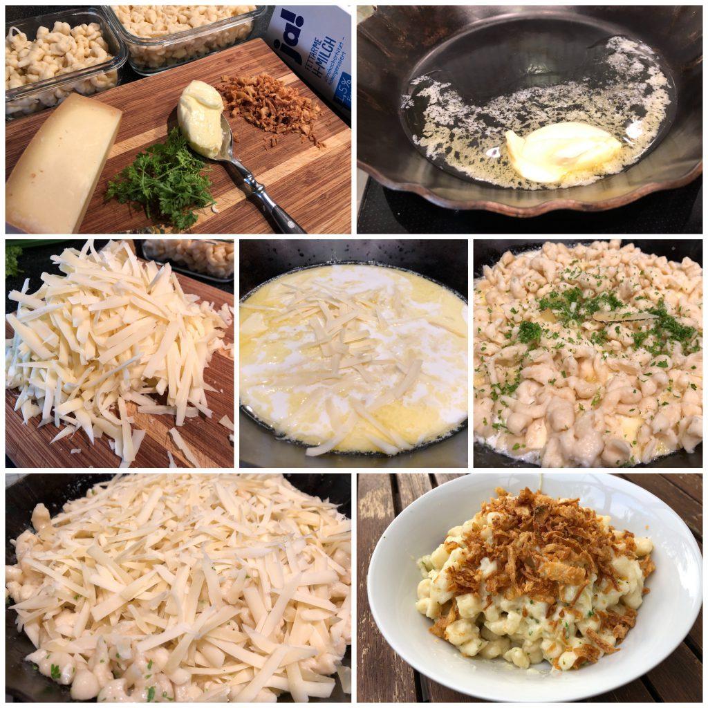 Allgäuer Käsespätzle