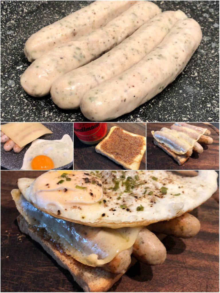 Nürnberger-Frühstücks-Toast