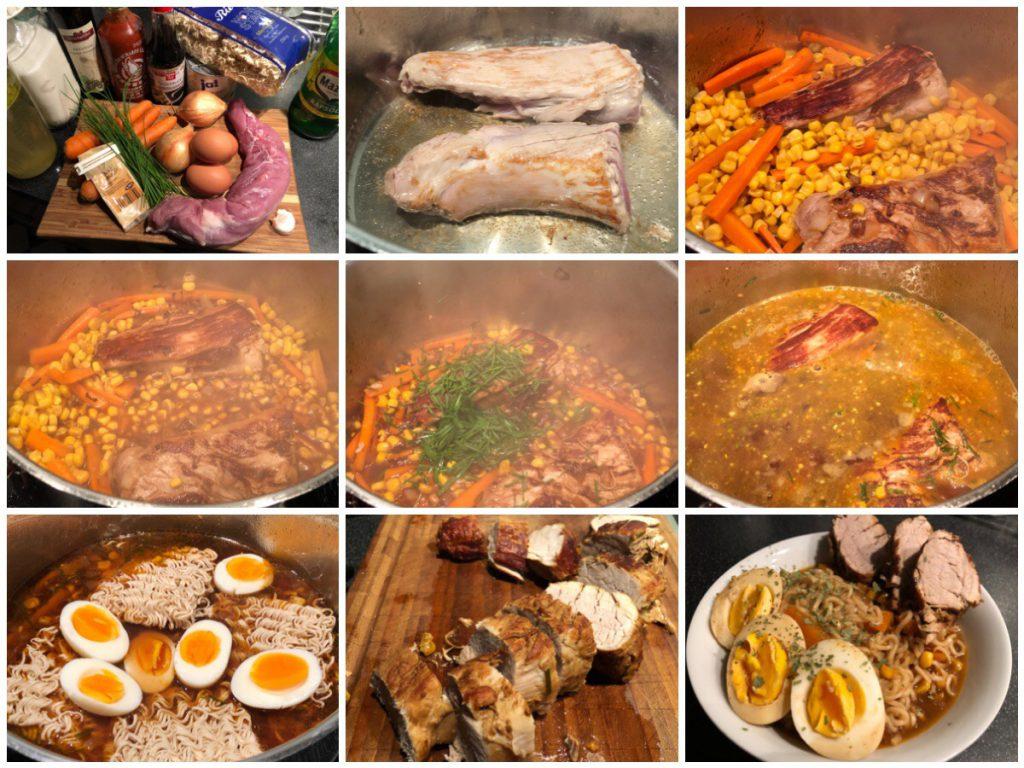 Asiatisch angehauchte Suppe mit Lende