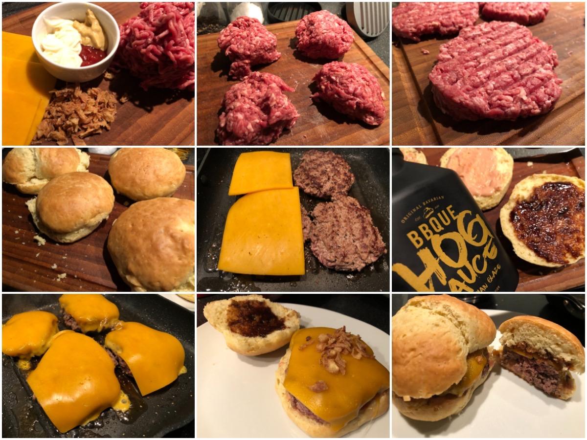 Cheeseburger klassisch