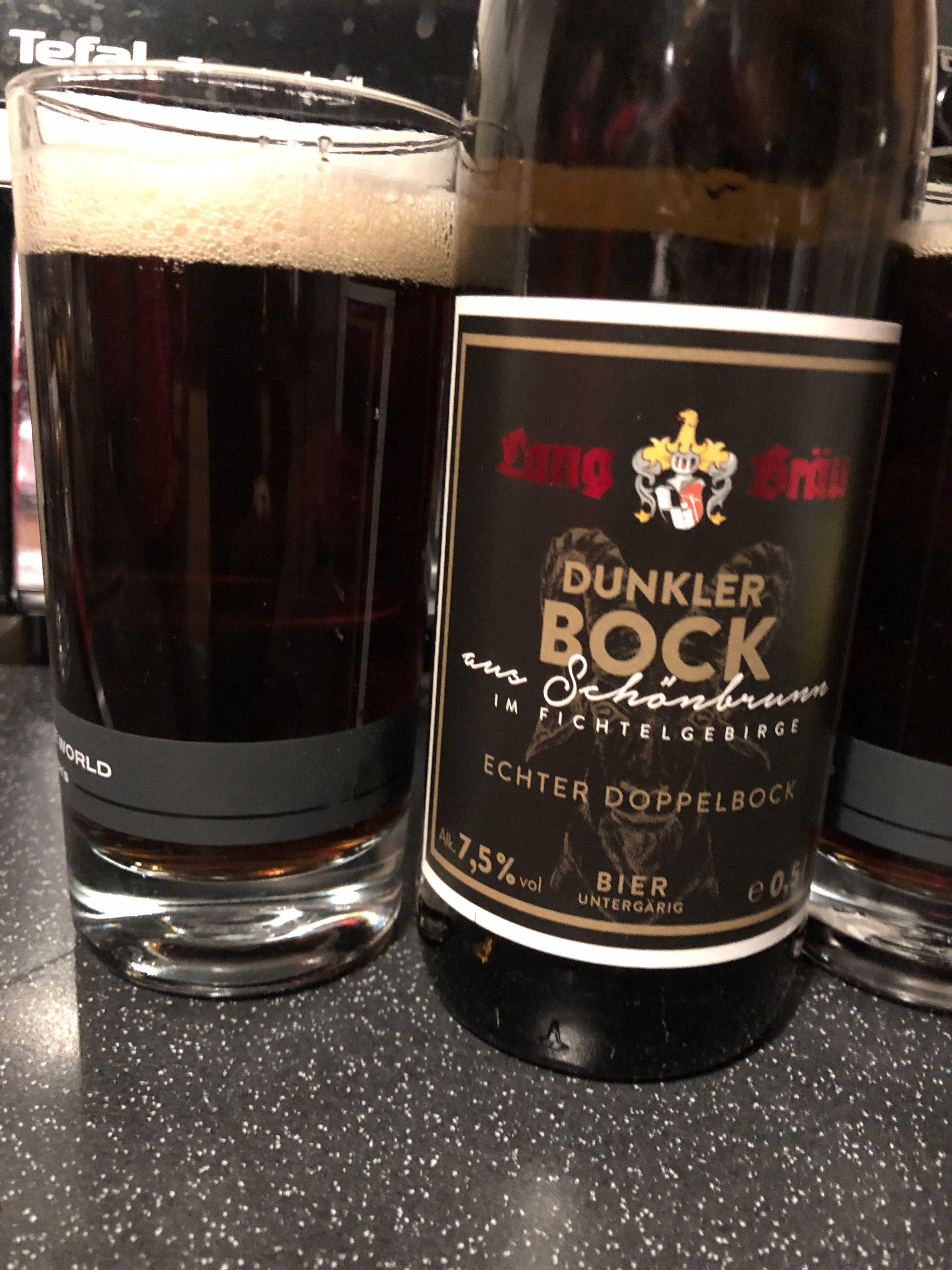 Lang-Bräu Dunkler Bock