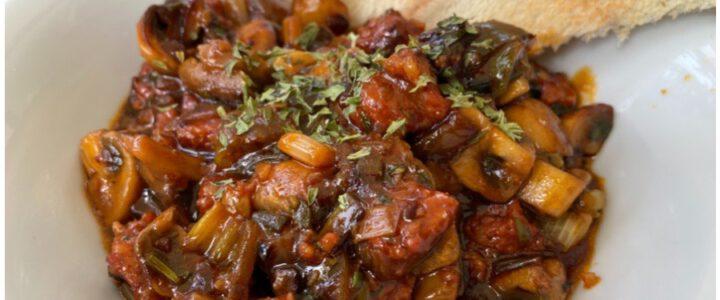 Pilzpfanne mit Chorizo